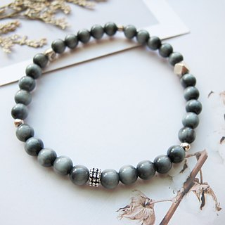 [Courage] eagle eye x 925 silver - hand-created natural stone series