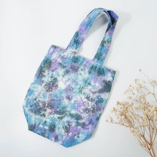 : Starry: Handmade Tie dye Reusable Coffee Sleeve Drinking Reusable Bag