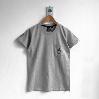 [BestFriend] Young BoyFriend Pocket T-Shirt / 04-GRAY