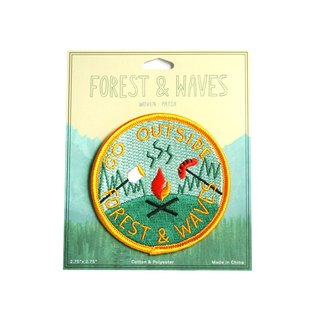 Forest & Waves Embroidery / Out of the Outdoors