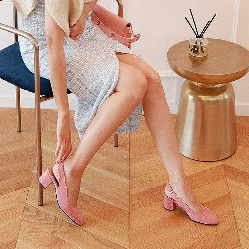 PRE-ORDER韓國人手製 MACMOC MOAN PINK 高跟鞋