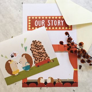 Movie Date - Squeaky Greeting Card