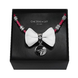 """CHIC DOG"" [round rope series] increase the price of zircon - two pairs"