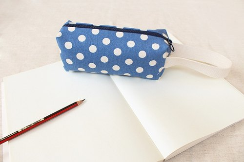 Dotted pencil case / storage bag universal bag pencil case