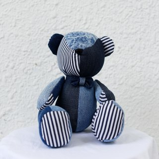 Patchwork Denim Bear 牛仔拼布小熊