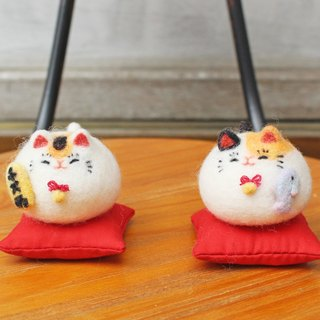 Anny's.招財招魚喵夫妻 Mr. and Mrs.Lucky Cat (展示)