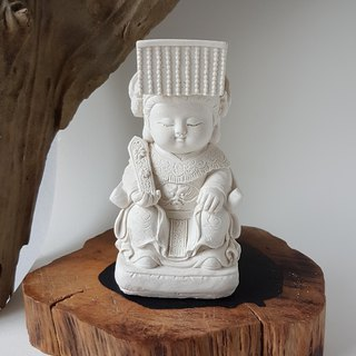 Matzu, Miniature Small meditation Buddha Zen/Fairy Garden Supplies DIY Accessory