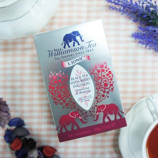Berry TEA WITH BERRY INFUSION / Heat-sealed tea bag series