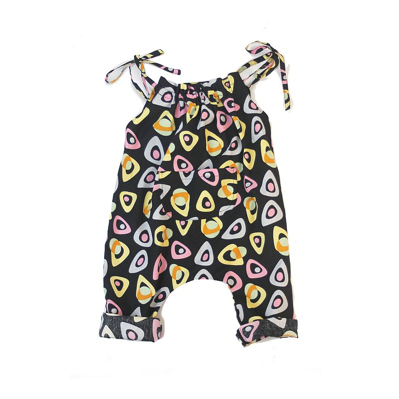 VA. cloth hand-made / children's clothing / retro party strappy suspenders
