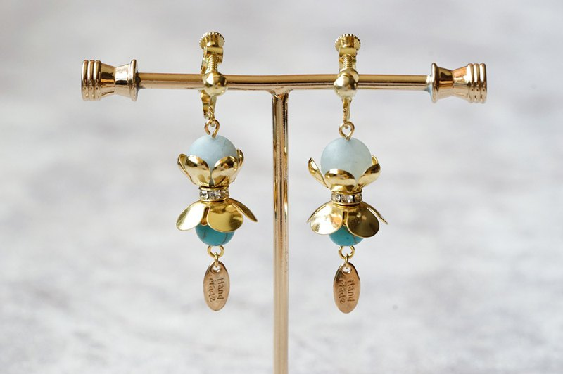 Ballet - Natural Stone Drop Earrings