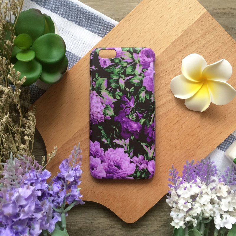 紫羅蘭//原創手機殼-    iPhone, HTC, Samsung, Sony,oppo, LG