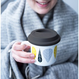 Muurla enamel cup Silicone coffee cup cover Christmas gift exchange gift