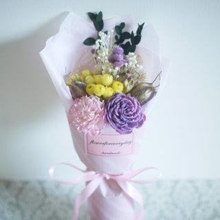 ♥ ♥ spend daily bouquet for mom / Mother's Day present, only a limited purple carnations