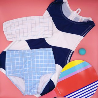 Blue Voyage - 3-piece swimsuit set