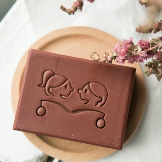 Pink Cocoa olive soap / Secret Garden