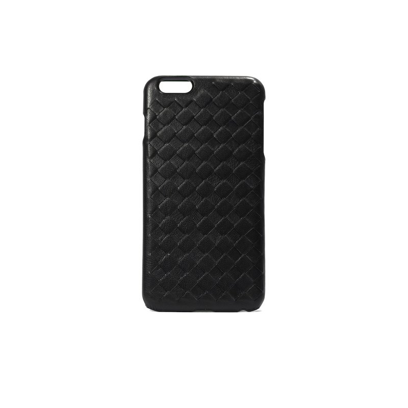 Phone Case - Black Sheepskin Woven iPhone 7