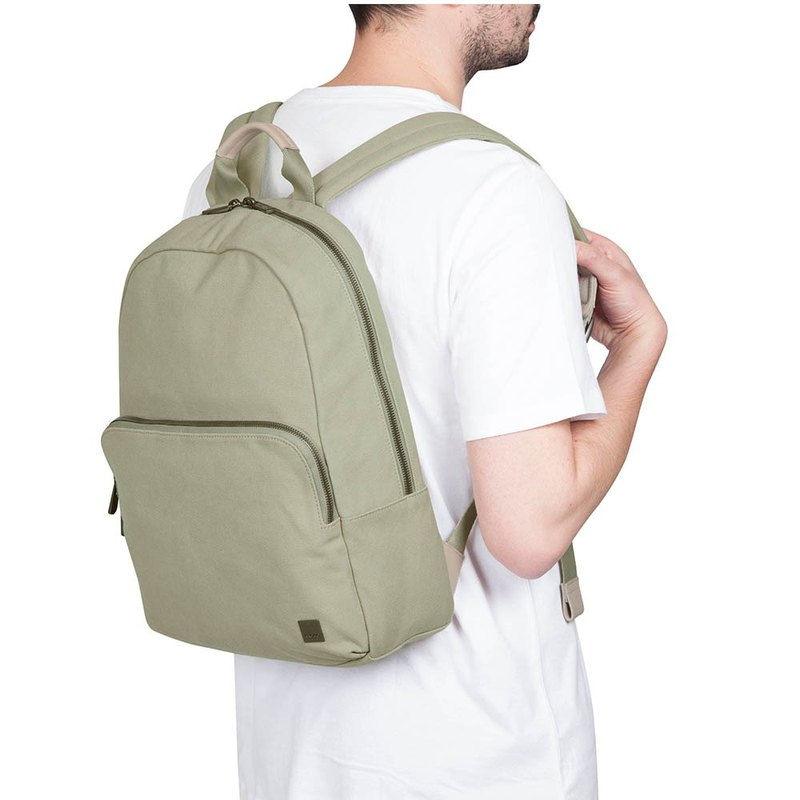 [Benefits] Hanson 13 Inch Backpack (Olive Green)