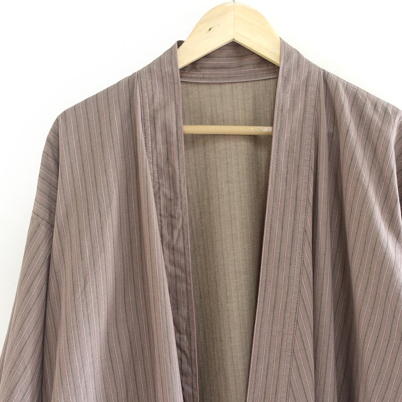 │Slowly│Japanese antiques - light kimono long coat P7│ vintage.vintage.vintage.literary.