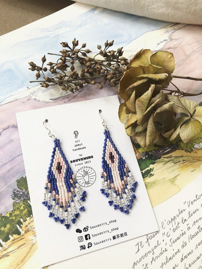 |Souvenirs|Original Imported Mizhu Bohemian Handmade Beaded Earrings