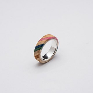 Send wood style ring R0202023