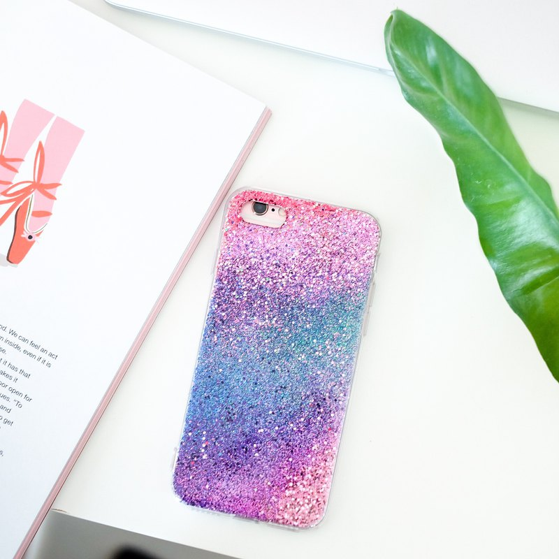 coral | case, handmade, phone case, glitter case, iphone case, samsung case