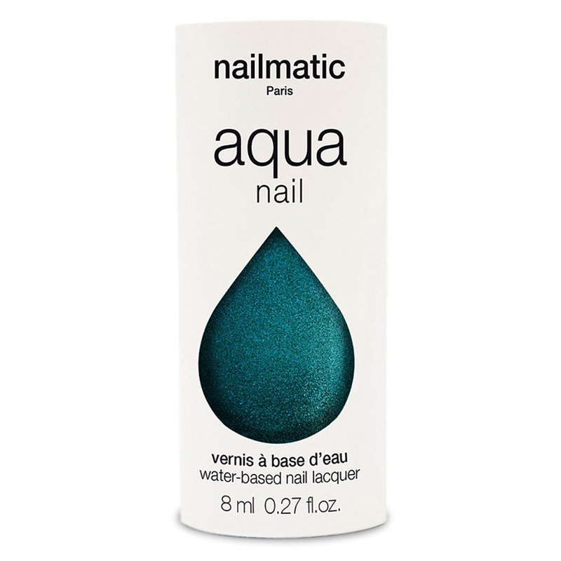 Nailmatic Water Classic Nail Polish-Holly Pearl Emerald