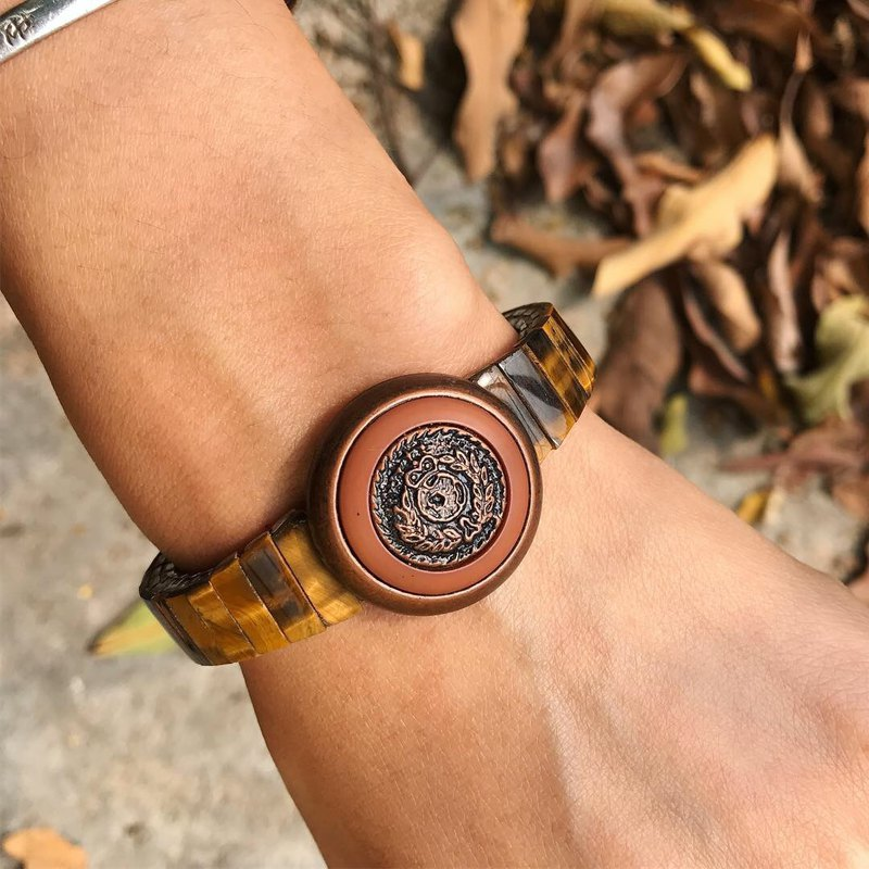 【Lost And Find】Natural tiger eyes bracelet