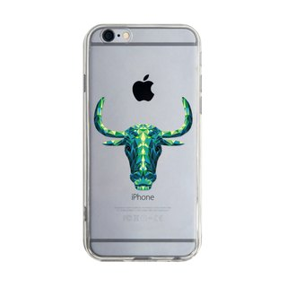 3D Stereo Cow - iPhone X 8 7 6s Plus 5s Samsung S7 S8 S9 Case Case