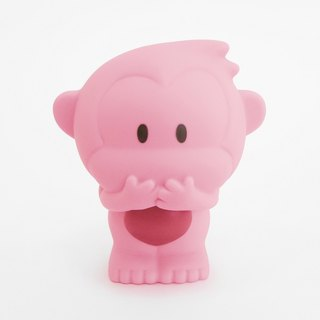 T. W.Monkeys - Coin Banks - Speak no evil -Pink