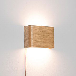 SLICEs LED wooden touch wall light ∣ dual light source switch ∣ parallel
