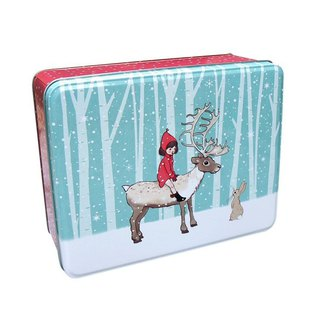 Belle & Boo elk tin box