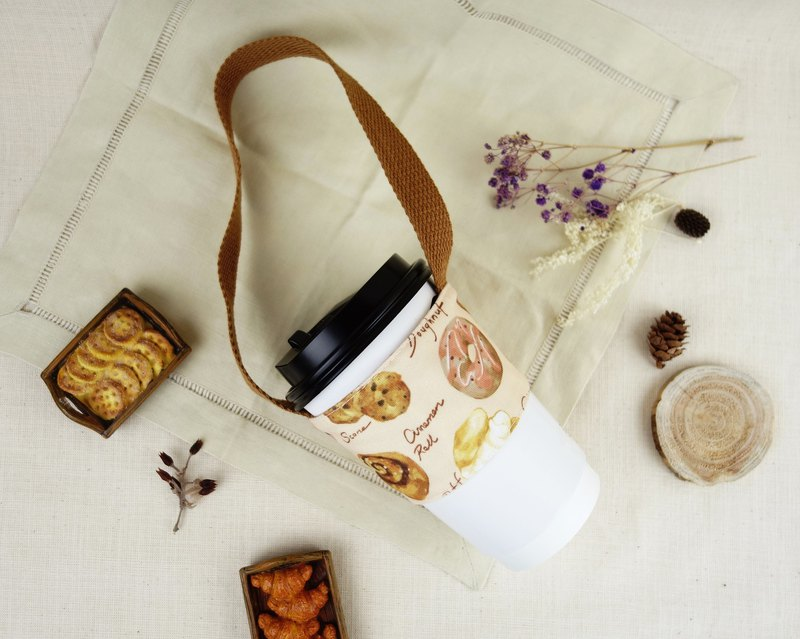 Double drink bag - bread collection