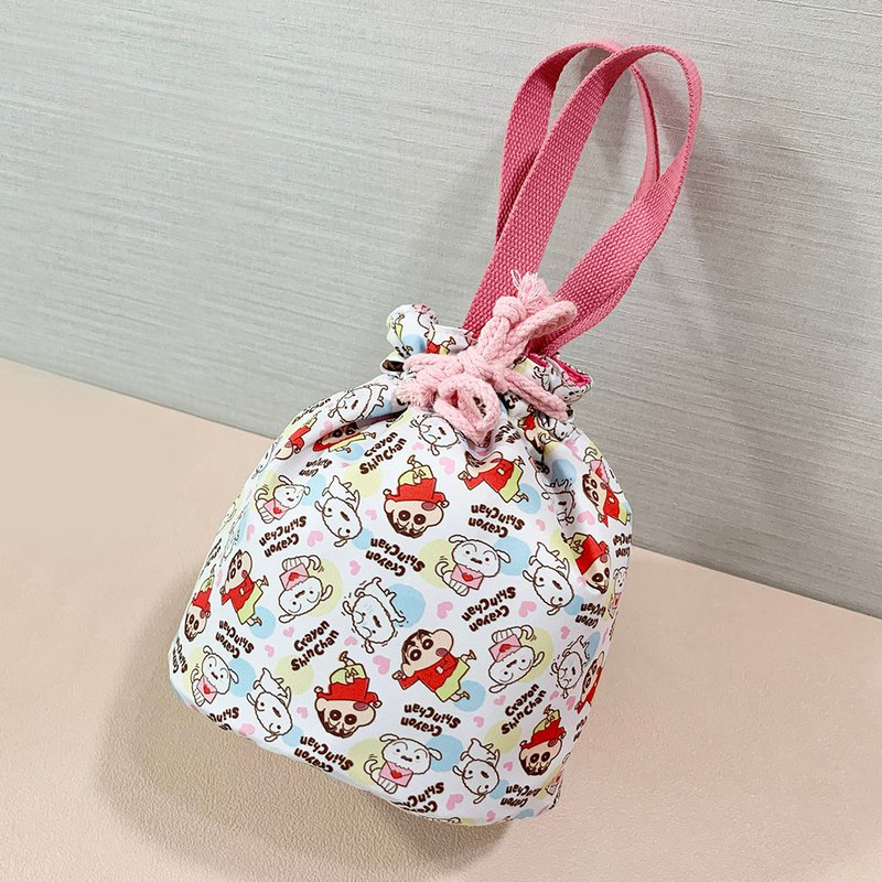 Crayon Shinchan Genuine Authorized - Fine and lovely lunch bag tote bag picnic bag out bag