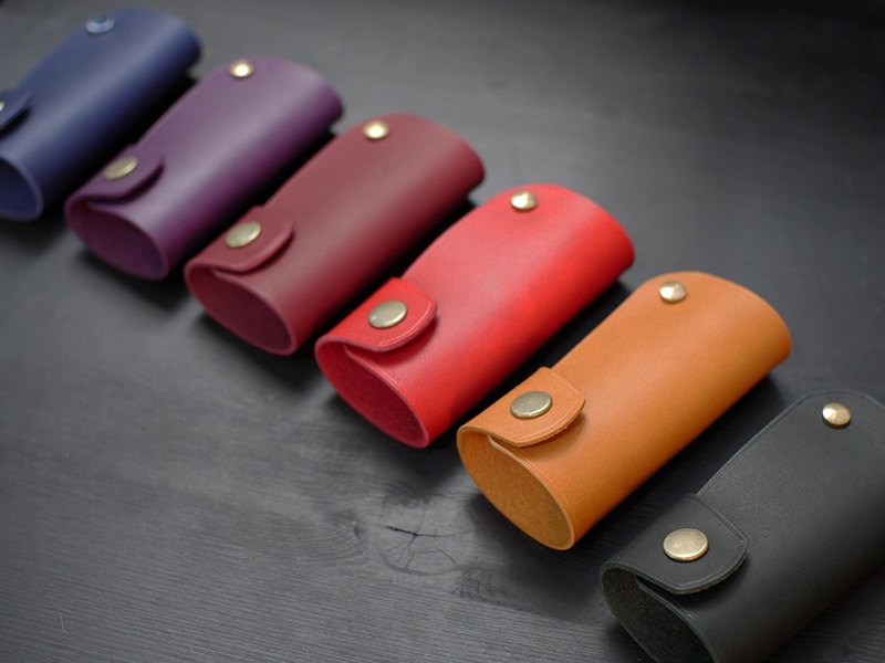 [On Offer] Leather Car Key Case