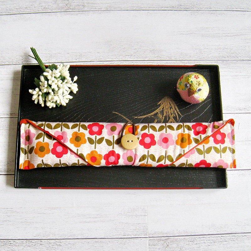 環保餐具組 餐具套 筷子套、餐具布套 飲管袋 CH-006