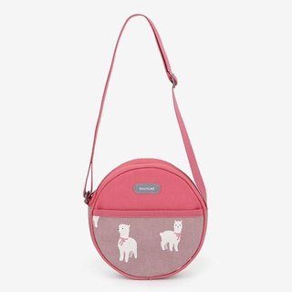 Dailylike Doodle Round Cross Backpack -02 Alpaca, E2D47470