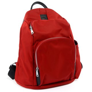 La Poche Secrete : Cosmic girl's lightweight back pack _ storage journey safe _ red