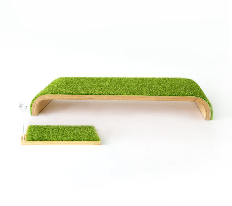 [Oushi OSHI] light grass (curtain shelf + storage tray) preferential combination