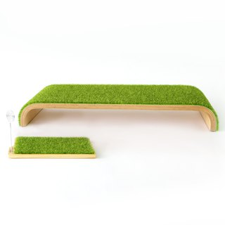[Oshi OSHI] Light Grass (Screen Stand + Storage Tray) Promotional Package