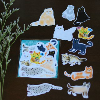 Cats Illustration / Sticker Pack