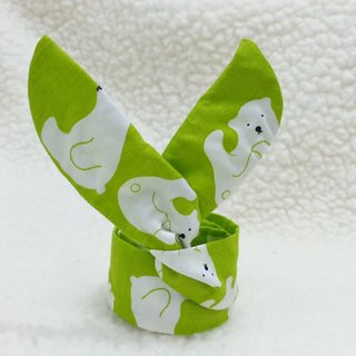 Green Bear BABY aluminum wire band [KH180222]