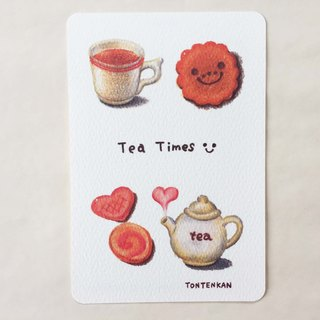 Delicious Tea Time Postcard no.129
