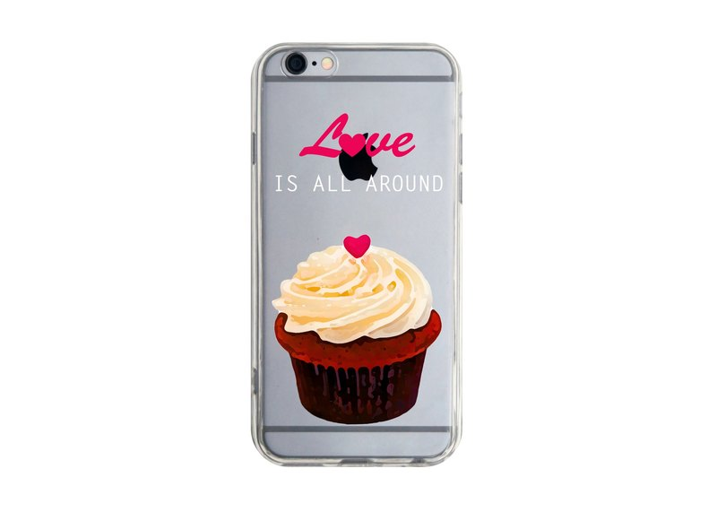 Cupcake iPhone X 8 7 6s Plus 5s Samsung note S9 Mobile Shell