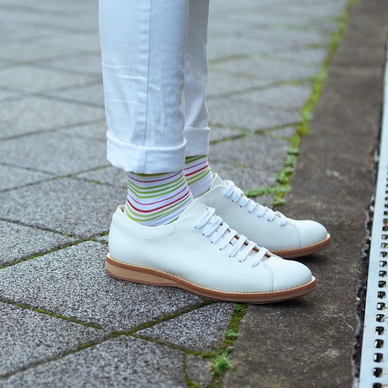 Fashion joint name | tongue tip taste striped socks - Thursday