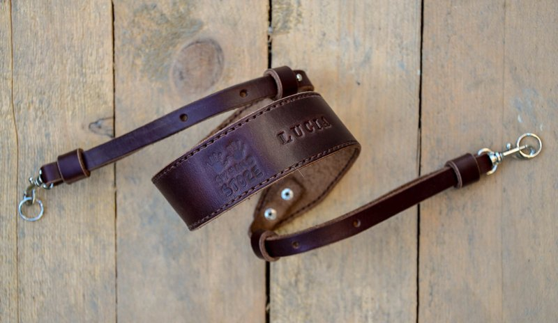 Leather Camera Strap, Custom camera strap with swivel clips and rings, for men and women, perfect gift for photographers.