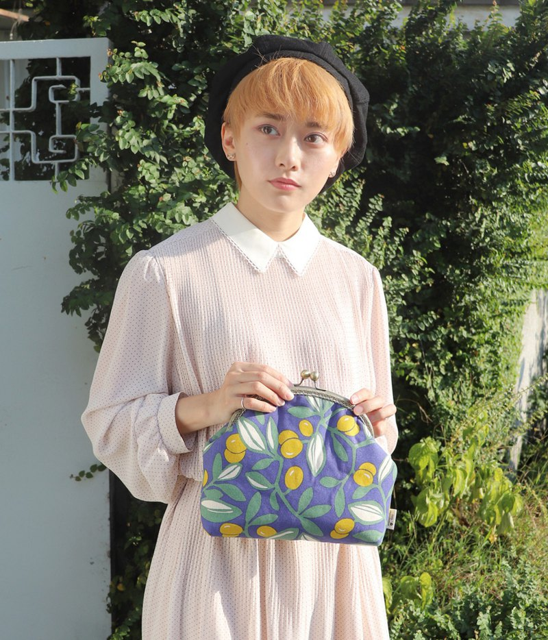 [Style Girl] -Twilight Kumquat-Customized 3way Mouth Bag Side Backpack Handbag