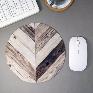 Rustic Wood Pattern Mouse Pad Vintage Mouse Mat
