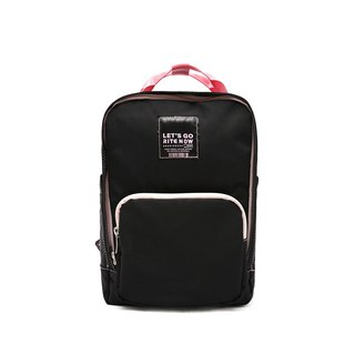 RITE x PINK RUN Series - Sports Edition Loose Heart Bag - Black