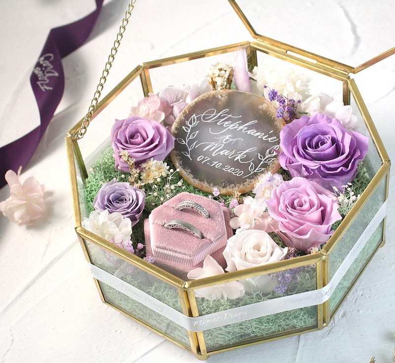 Preserved Flower Ringbox