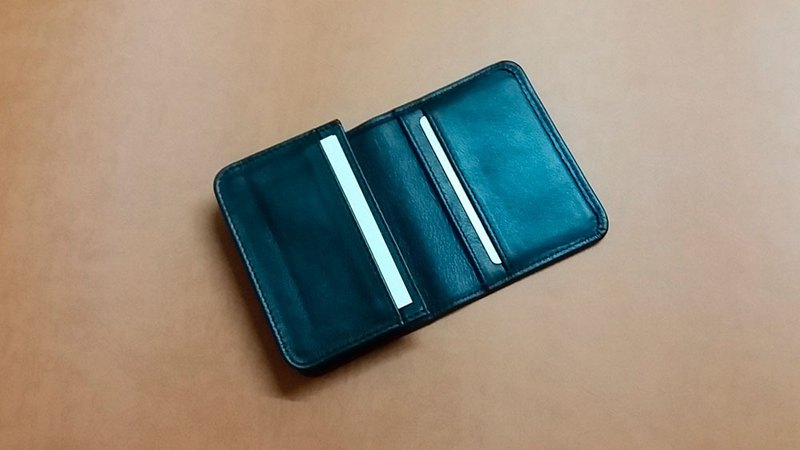 Large capacity business card holster, credit card holster